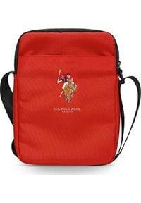 """U.S. Polo Assn - Torba U.S. Polo ASSN US Polo Torba USTB10PUGFLRE 10"""" czerwona /red. Kolor: czerwony"""