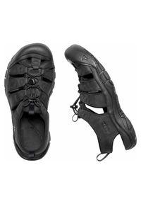 keen - Sandały męskie Keen Newport 1020284. Zapięcie: pasek. Materiał: tkanina, skóra, guma. Wzór: paski. Styl: młodzieżowy