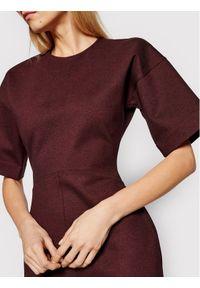 Czerwona sukienka dzianinowa Victoria Victoria Beckham