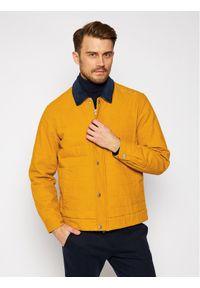 Converse Kurtka jeansowa Saffron 10019460-A04 Żółty Regular Fit. Kolor: żółty. Materiał: jeans