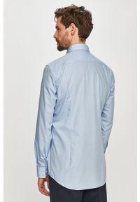 Niebieska koszula Hugo długa, na co dzień, casualowa