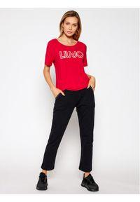 Liu Jo Sport T-Shirt TA1012 J7905 Czerwony Regular Fit. Kolor: czerwony. Styl: sportowy