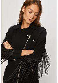 Czarna kurtka AllSaints bez kaptura, klasyczna