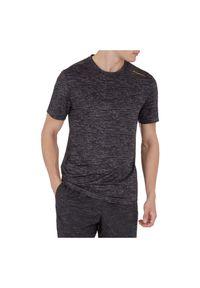Koszulka treningowa męska Energetics Friso 302750. Materiał: wiskoza, poliester, tkanina, materiał. Długość rękawa: krótki rękaw. Długość: krótkie