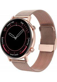 Smartwatch Bakeeley E05 Różowe złoto. Rodzaj zegarka: smartwatch. Kolor: złoty, różowy, wielokolorowy