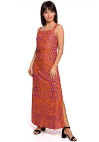 Sukienka na ramiączkach, maxi