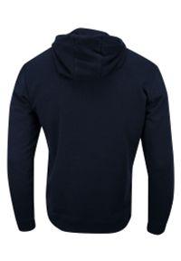 Niebieski sweter Brave Soul z kapturem, sportowy