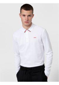 Hugo Polo Donol211 50442931 Biały Regular Fit. Typ kołnierza: polo. Kolor: biały