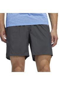 Adidas - ADIDAS OWN THE RUN SHORTS > FM6952. Materiał: tkanina, materiał, poliester. Wzór: ze splotem. Sport: bieganie