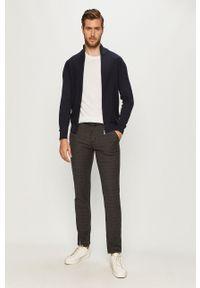 Tom Tailor Denim - Spodnie. Kolor: szary. Materiał: denim