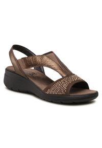 Brązowe sandały Imac moro