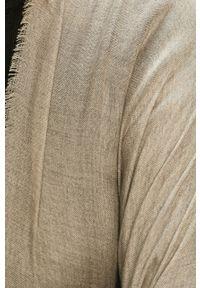 Szary sweter Stefanel klasyczny