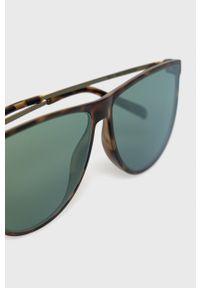 Uvex - Okulary przeciwsłoneczne LGL 47. Kształt: owalne. Kolor: brązowy