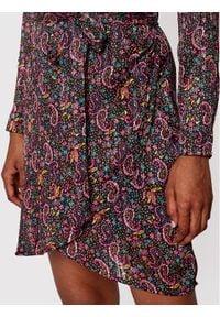 Morgan Sukienka codzienna 211-RODY.F Kolorowy Slim Fit. Okazja: na co dzień. Wzór: kolorowy. Typ sukienki: proste. Styl: casual