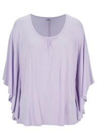 """Shirt """"nietoperz"""" bonprix fiołkowy bez. Kolor: fioletowy"""
