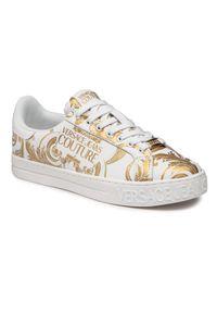 Versace Jeans Couture Sneakersy E0YWASK9 Biały. Kolor: biały