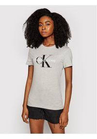 Calvin Klein Jeans T-Shirt J20J207878 Szary Regular Fit. Kolor: szary