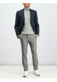 JOOP! - Joop! Spodnie materiałowe 30017671 Szary Slim Fit. Kolor: szary. Materiał: materiał