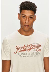 T-shirt Premium by Jack&Jones casualowy, na co dzień, z nadrukiem