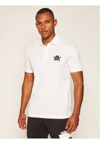 Biała koszulka polo Armani Exchange polo