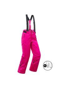 WEDZE - Spodnie narciarskie dla dzieci Wedze 500 PNF. Materiał: dzianina, materiał. Sport: narciarstwo