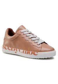 See By Chloé Sneakersy SB33125A Brązowy. Kolor: brązowy