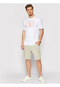 Only & Sons Szorty materiałowe Nicky 22019126 Szary Regular Fit. Kolor: szary. Materiał: materiał