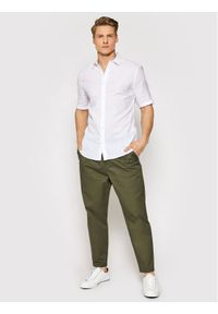 Only & Sons - ONLY & SONS Chinosy Dew 22019208 Zielony Regular Fit. Kolor: zielony #2