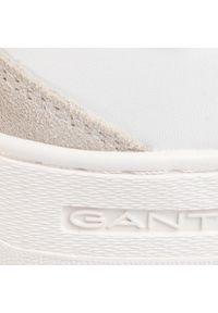 Białe półbuty GANT z cholewką