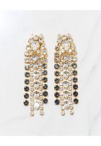 CAROLINE SVEDBOM - Kolczyki z kryształami Swarovskiego Penelope. Materiał: złote. Kolor: złoty. Kamień szlachetny: kryształ