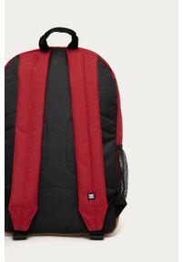 Czerwony plecak DC gładki