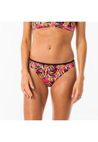 OLAIAN - Dół kostiumu kąpielowego NINA TOBI DIVA damska. Kolor: różowy. Materiał: poliester, poliamid, materiał, elastan
