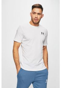 Biały t-shirt Under Armour
