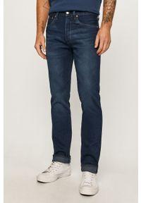 Niebieskie jeansy Levi's® w kolorowe wzory, biznesowe
