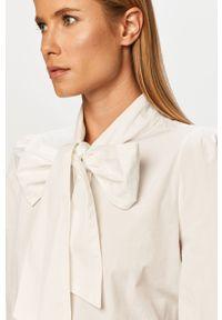 Biała koszula only na co dzień, długa, casualowa