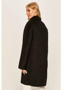 Czarny płaszcz Desigual bez kaptura, na co dzień, raglanowy rękaw