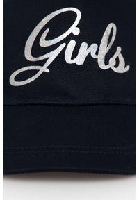 Niebieska czapka z daszkiem Name it z nadrukiem