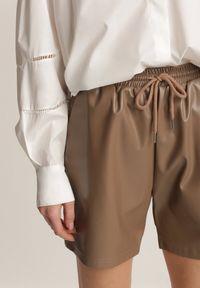 Renee - Brązowe Szorty Dianeh. Kolor: brązowy