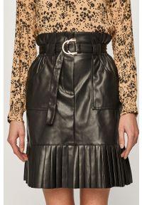 Czarna spódnica Vila casualowa, na co dzień