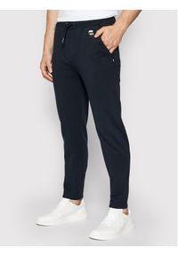 Niebieskie spodnie dresowe Karl Lagerfeld