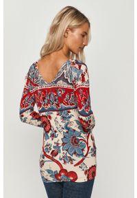 Wielokolorowy sweter Desigual z długim rękawem, casualowy