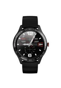 Niebieski zegarek Maxcom smartwatch