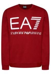 EA7 Emporio Armani Bluza 6KPM68 PJBWZ 1459 Czerwony Regular Fit. Kolor: czerwony