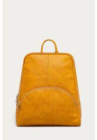 Żółty plecak ANSWEAR elegancki