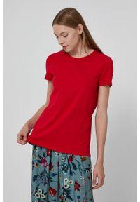 medicine - Medicine - T-shirt Basic. Okazja: na co dzień. Kolor: czerwony. Materiał: bawełna, dzianina. Wzór: gładki. Styl: casual