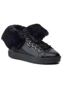Czarne buty sportowe Pepe Jeans