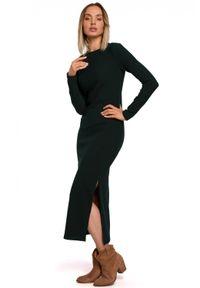 Sukienka MOE z długim rękawem, maxi