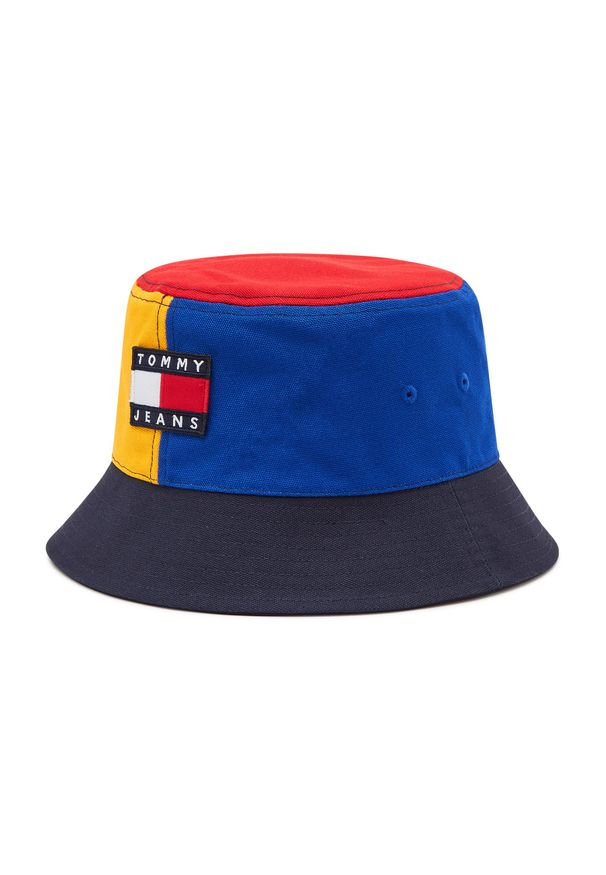 Tommy Jeans - Bucket TOMMY JEANS - Tjm Heritage Color Block AM0AM07422 0G0. Materiał: bawełna, materiał