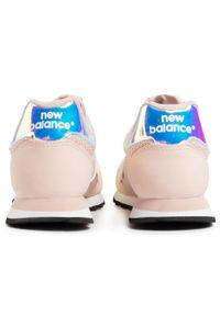 Różowe półbuty casual New Balance na co dzień, z cholewką