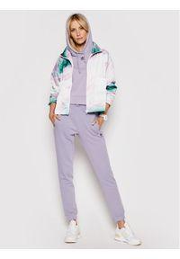 Adidas - adidas Kurtka przejściowa Track GN3262 Kolorowy Regular Fit. Wzór: kolorowy